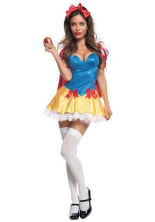 Sequin Snow White Costume   Sexy Disney Princess Costumes