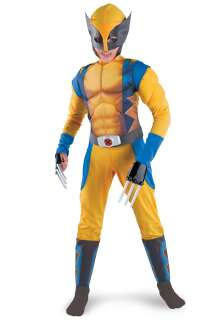 Superhero Costumes Wolverine Costumes Kids Wolverine Origins Costume