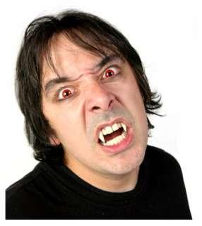 Retractable Vampire Fangs   Adult Vampire Teeth