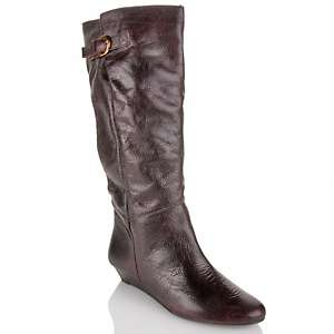 Steven by Steve Madden Intyce Leather Mid Calf Boot