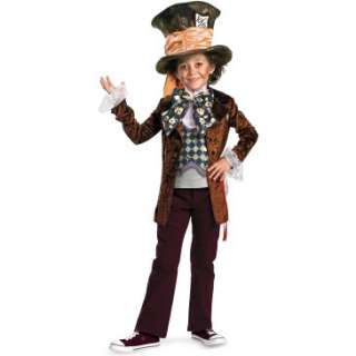 Alice in Wonderland Movie   Mad Hatter Child Costume, 800406