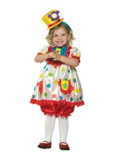 Colorful Girl  Clown Girls Clown Costume at Wholesale Prices