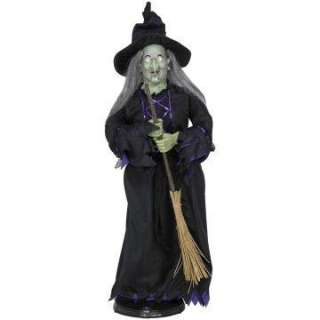 Animated Witch with Broom     1658461