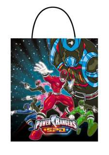 Power Ranger S.P.D. Party Bags 24 pack   Power Rangers Costume