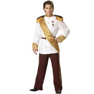 Prince Charming Elite Collection Adult Costume   Includes: Military