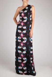 Halston Heritage  Iconic Disco Full Length One Shoulder Dress by