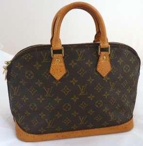 Louis Vuitton Alma Monogram Brown Handbag louis Vuitton Paris M53151