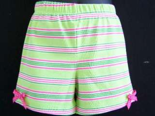 Girls PINK & LIME ICE CREAM RUFFLE Size 2T bOuTiQuE Shorts Clothes