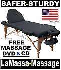 Massage Tables Chairs and Equipment LifeTime Warranty items in LaMassa