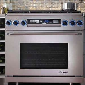 com Dacor Epicure 36 In. Stainless Steel Freestanding Dual Fuel Range