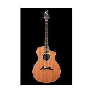 Ed. Custom Walnut Acoustic Electric Guitar: Musical Instruments