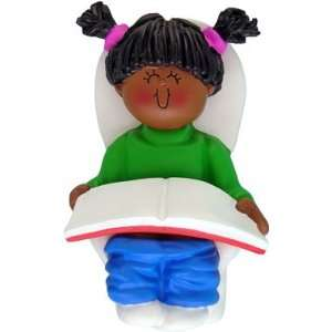 Potty Training Girl African American Baby