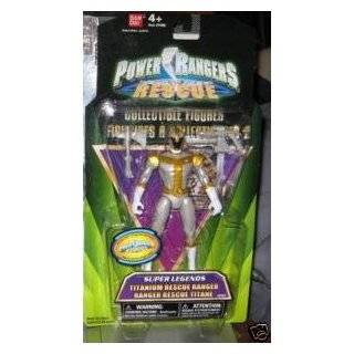 Power Rangers RPM Full Throttle T Rex Ranger Silver  Toys & Games