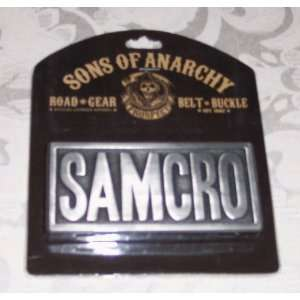 Sons of Anarchy SOA SAMCRO Metal Embossed BELT BUCKLE