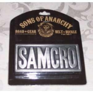 Sons of Anarchy SOA SAMCRO Metal Embossed BELT BUCKLE