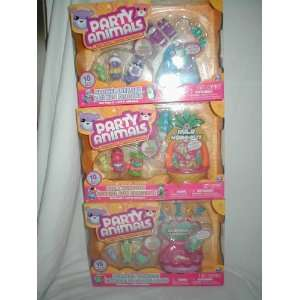 Party Animals 10 piece Mini Playset with Exclusive
