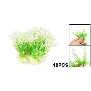 Grass Decor Aquarium Plastic Plants Fish Tank Decoration: Pet Supplies