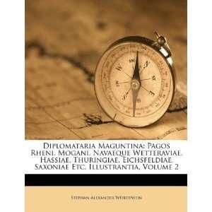 Diplomataria Maguntina: Pagos Rheni, Mogani, Navaeque Wetteraviae