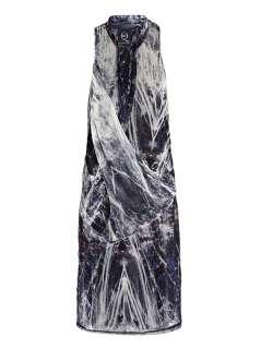 Neon light print dress  McQ Alexander McQueen  io
