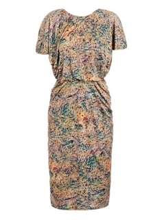 Apsara spot print dress  Saloni
