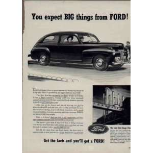 You expect BIG things from FORD  1941 FORD Ad, A3264