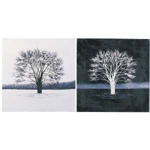 Black And White Painting (Set Of Two Pieces) Home