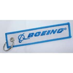 Boeing Aircraft   Woven High Quality Key Tag   Aircraft Airplane
