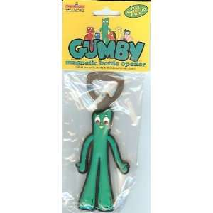 Gumby Magnetic Bottle Opener   Discontinued: Kitchen