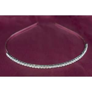 SIMPLE SWAROVSKI CRYSTAL WEDDING PROM TIARA HEADBAND Beauty