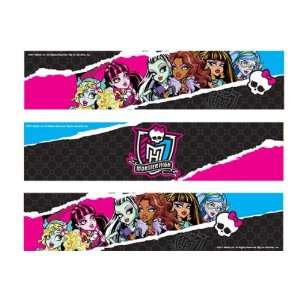 Monster High Designer Prints Edible Cake Image Border: Everything Else