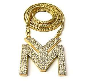 LILWAYNE DRAKE NICKI Young Money Chain Pendant New Gold Jewelry