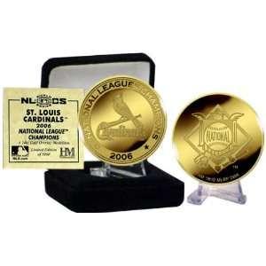 Cardinals National League Champions 24KT Gold Coin