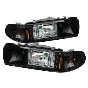 Spyder Auto Chevy Caprice / Impala 1PC LED Crystal Headlights Black
