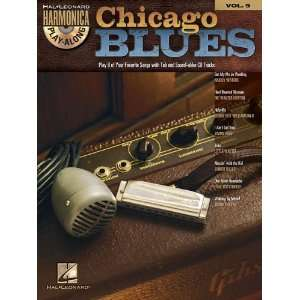 Chicago Blues   Harmonica Play Along Volume 9 Book/Cd