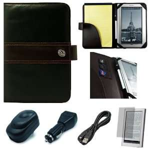 Brown Premium Executive Leather Protective Book Style
