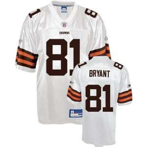 Jersey Reebok White Replica #81 Cleveland Browns Jersey Sports