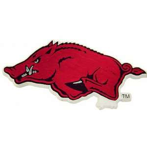 NCAA Arkansas Razorbacks 2D Running Hog Magnet: Sports