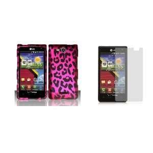 LG Lucid (Verizon) Premium Combo Pack   Pink and Black