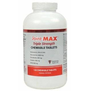 Joint MAX TRIPLE Strength (120 CHEWABLE TABLETS) Pet