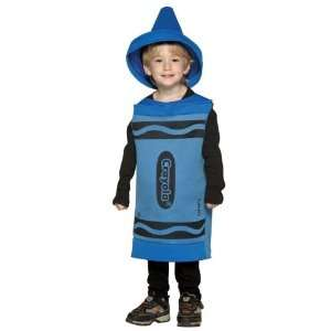 Crayola Crayon (Blue) Child Costume Size 3T 4T Toddler Toys & Games