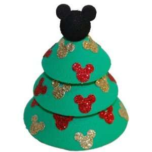 Mickey Mouse Christmas Tree Car Antenna Topper Automotive