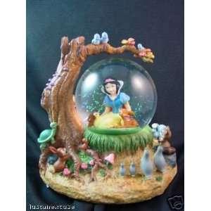 Disney Snow White & Forest Friends Musical Snowglobe