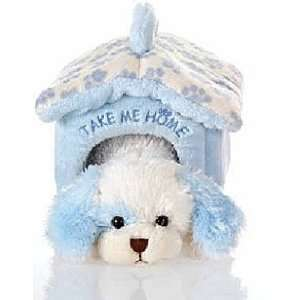Blue Dog with Pet Carrier 8 by Fiesta  Toys & Games