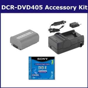 Sony DCR DVD405 Camcorder Accessory Kit includes 3DMR30R1H Tape