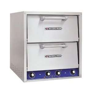 Bakers Pride Electric Counter Top Pizza Oven   Two Ovens   Brick Lined