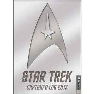 Star Trek Captains Log 2013 Engagement Calendar