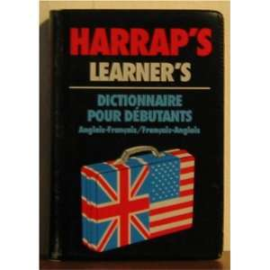 Harraps Learners Mini Dictionary English French/Francais Anglais