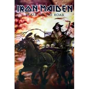 Iron Maiden English Heavy Metal Band From Leyton in East London Wall
