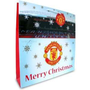 Manchester United Fc Football Paper Gift Bag Official