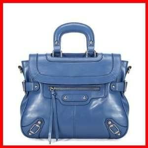 Real Genuine Leather Purse Satchel Vintage Tote Shoulder Bag Handbag
